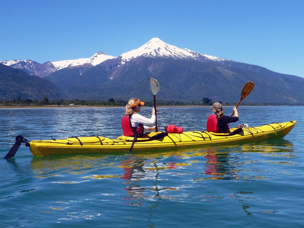 L'estuaire de Reloncaví au Chili en kayak