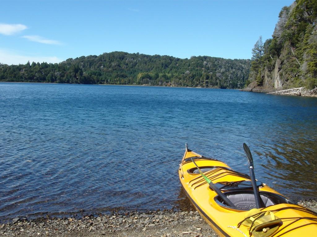 Kayak sur le Brazo del Machete à Villa la Angostura