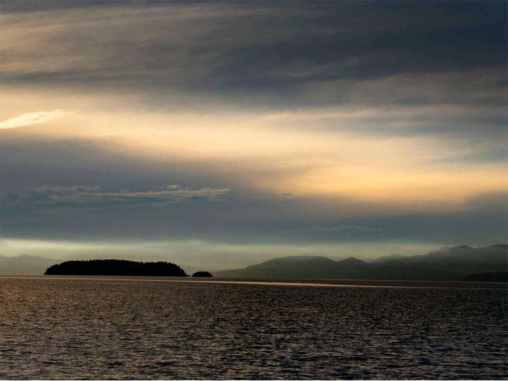 Sur le lac Nahuel Huapi en kayak