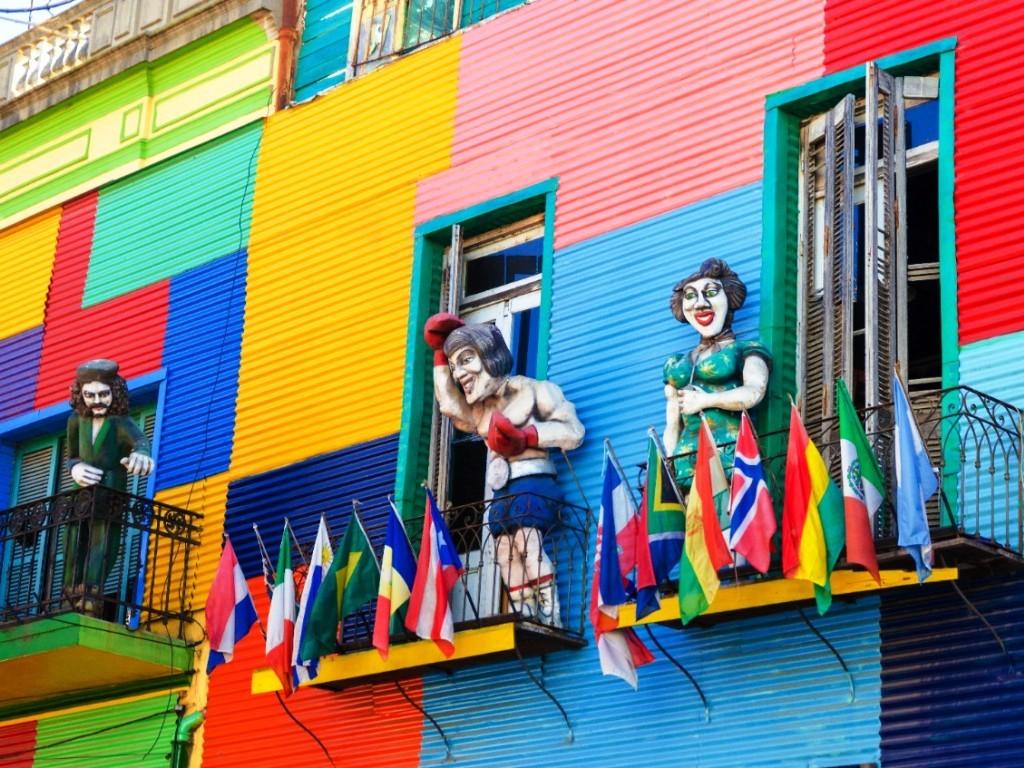 Quartier de La Boca à Buenos Aires