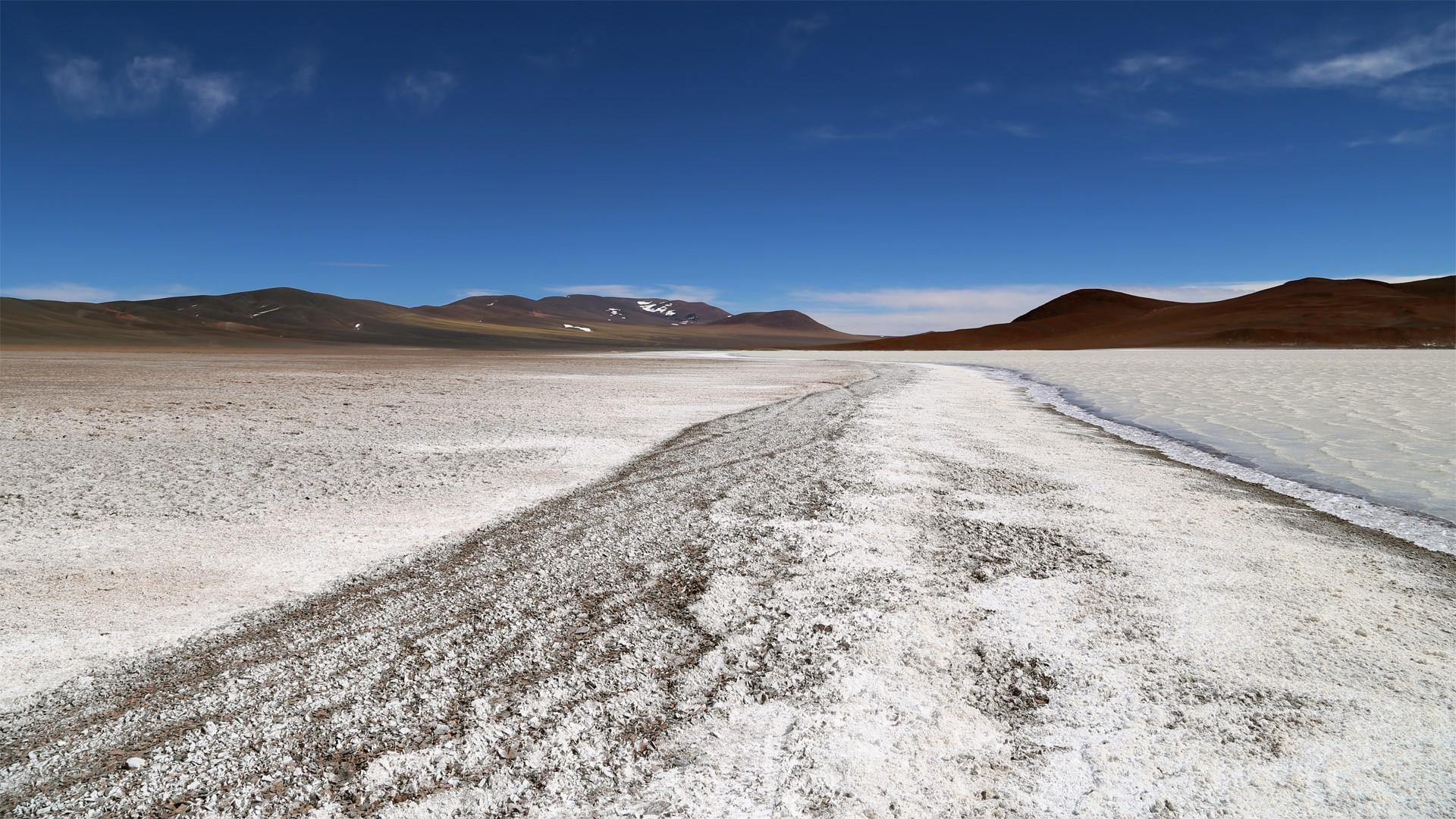 Laguna Brava región de Cuyo Argentina