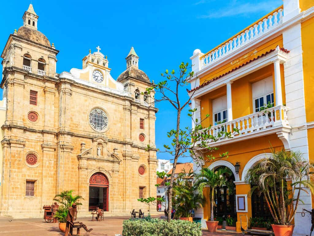 Carthagène des Indes en Colombie, est la perle des Caraïbes
