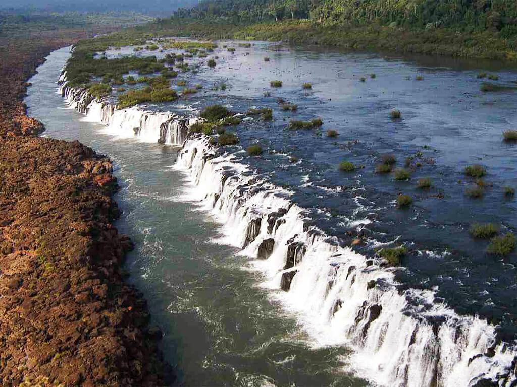 Les chutes de Mocona dans la province de Misiones en Argentine