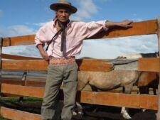 Pedro, gaucho dans une Estancia en Patagonie