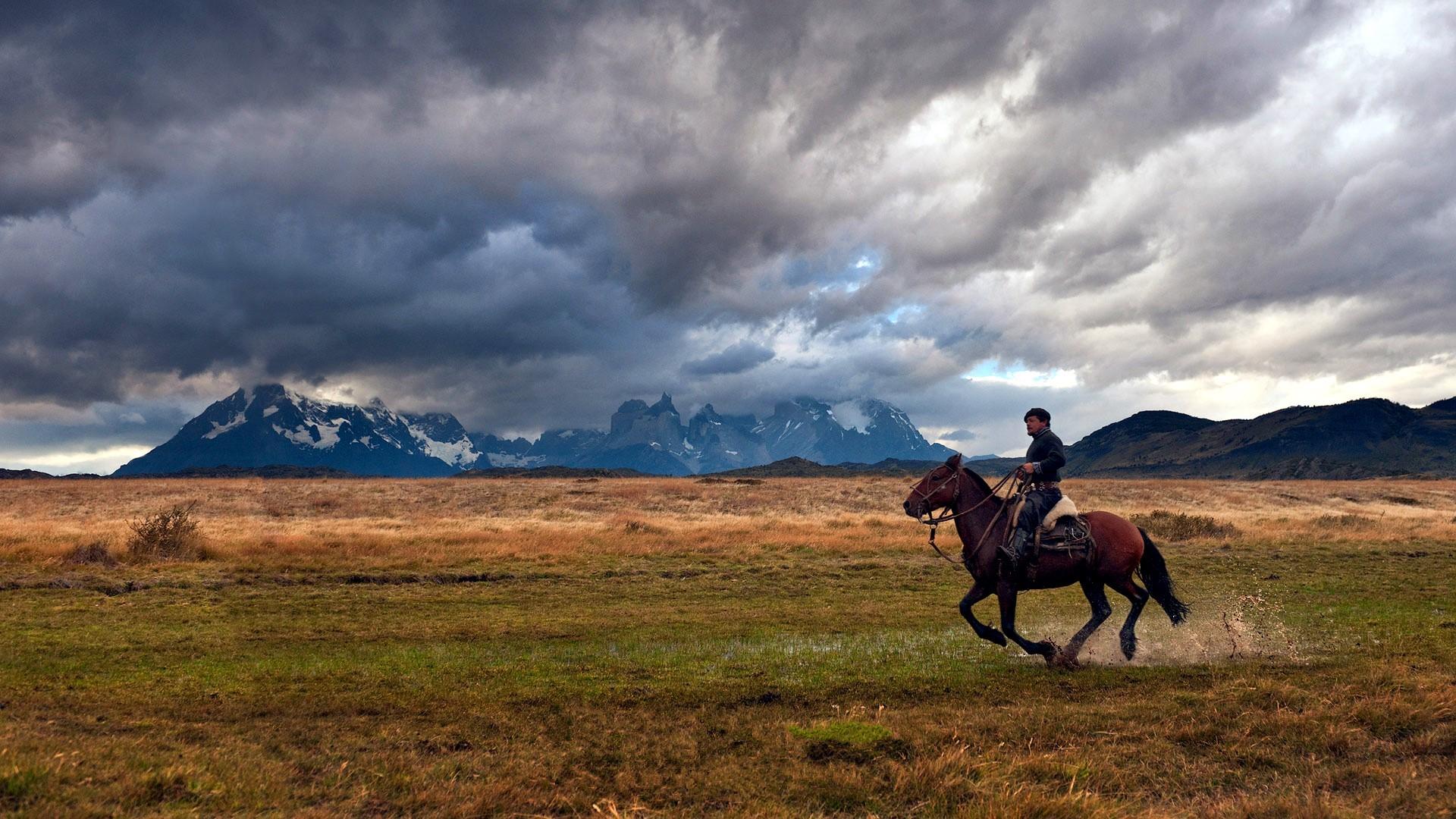 El gaucho de la Patagonia