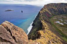 Orongo sur l'Île de Pâques