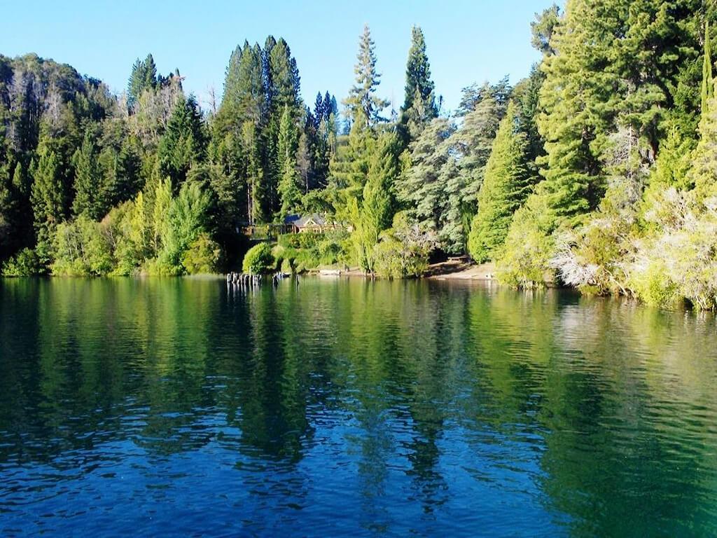 Île Victoria sur le lac Nahuel Huapi à Bariloche