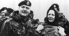 Margaret Thatcher sur les îles Malouines