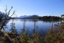 Kayak en los lagos de Bariloche