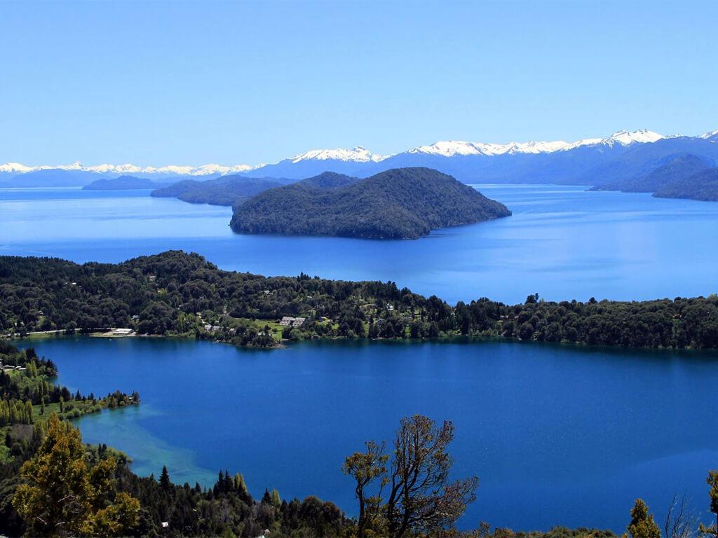 Le lac Nahuel Huapi depuis le Cerro Otto