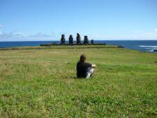 Moaï Île de Pâques