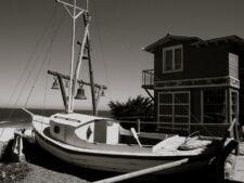 Pablo Neruda sur la Isla Negra