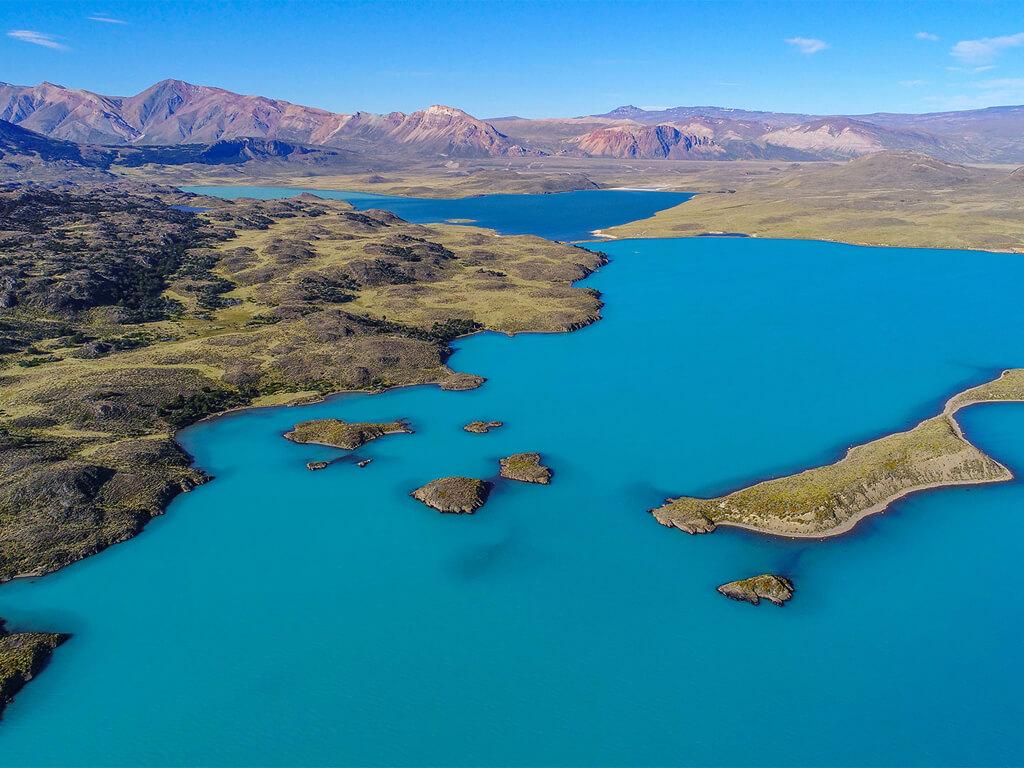 Parc national Perito Moreno en Patagonie Argentine