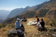 Un picnic en la Patagonia