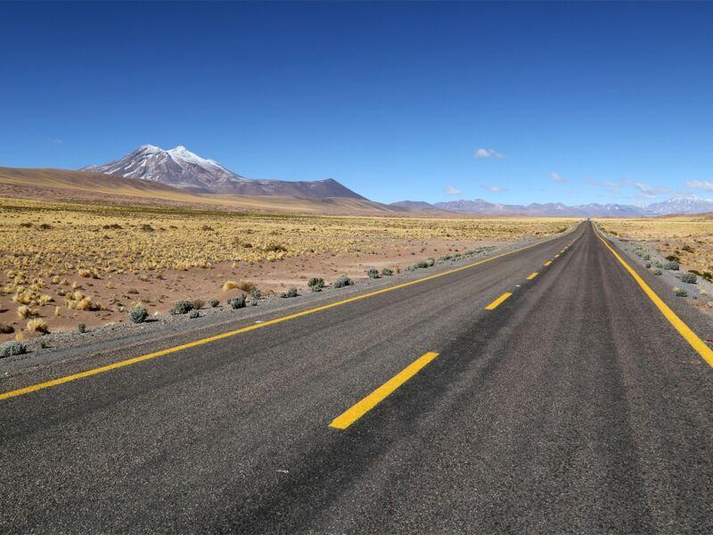 En route vers la région San Pedro de Atacama au Nord du Chili
