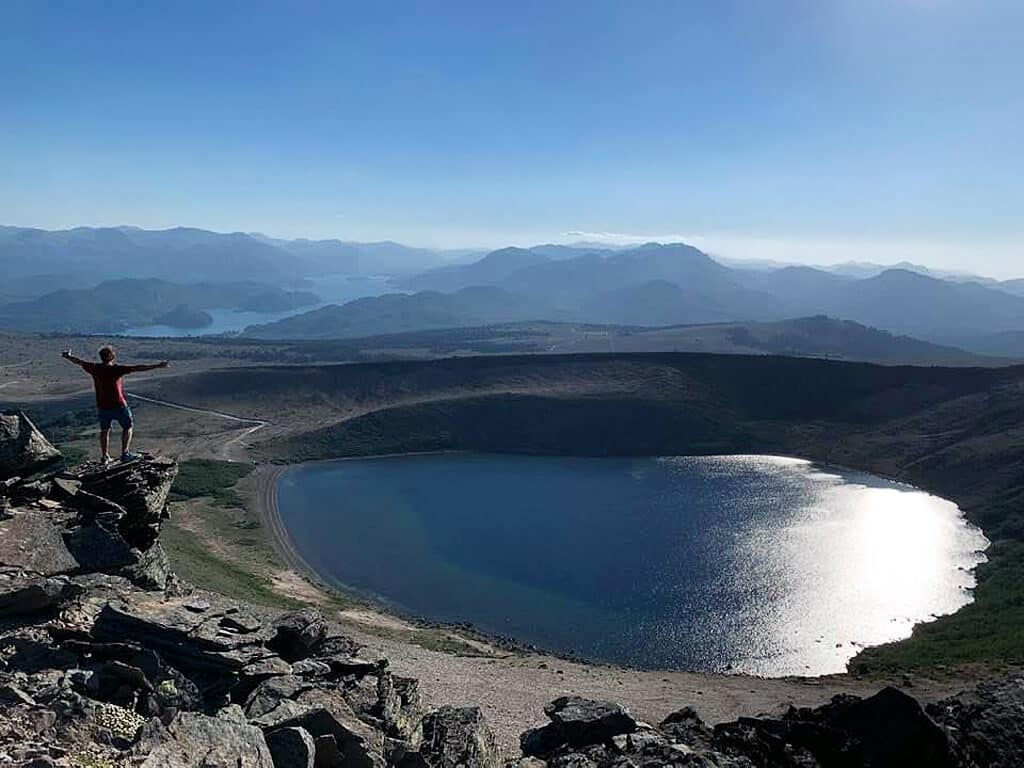 Volcan Batea Mahuida en Patagonie Argentine
