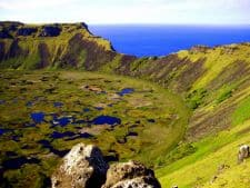 Volcan Rano Kau Île de Pâques