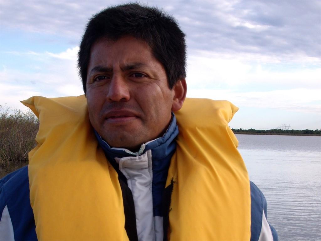 Maximo est le spécialiste des étangs de l'Ibera en Argentine