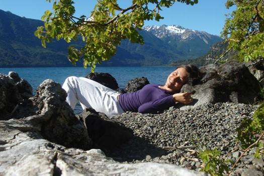 Myrna Corsi en Patagonie Argentine