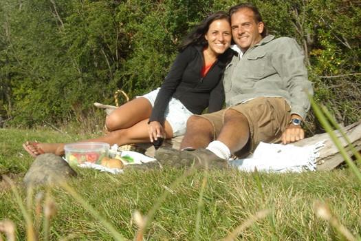 Myrna Corsi & Boris Choquet en Patagonie