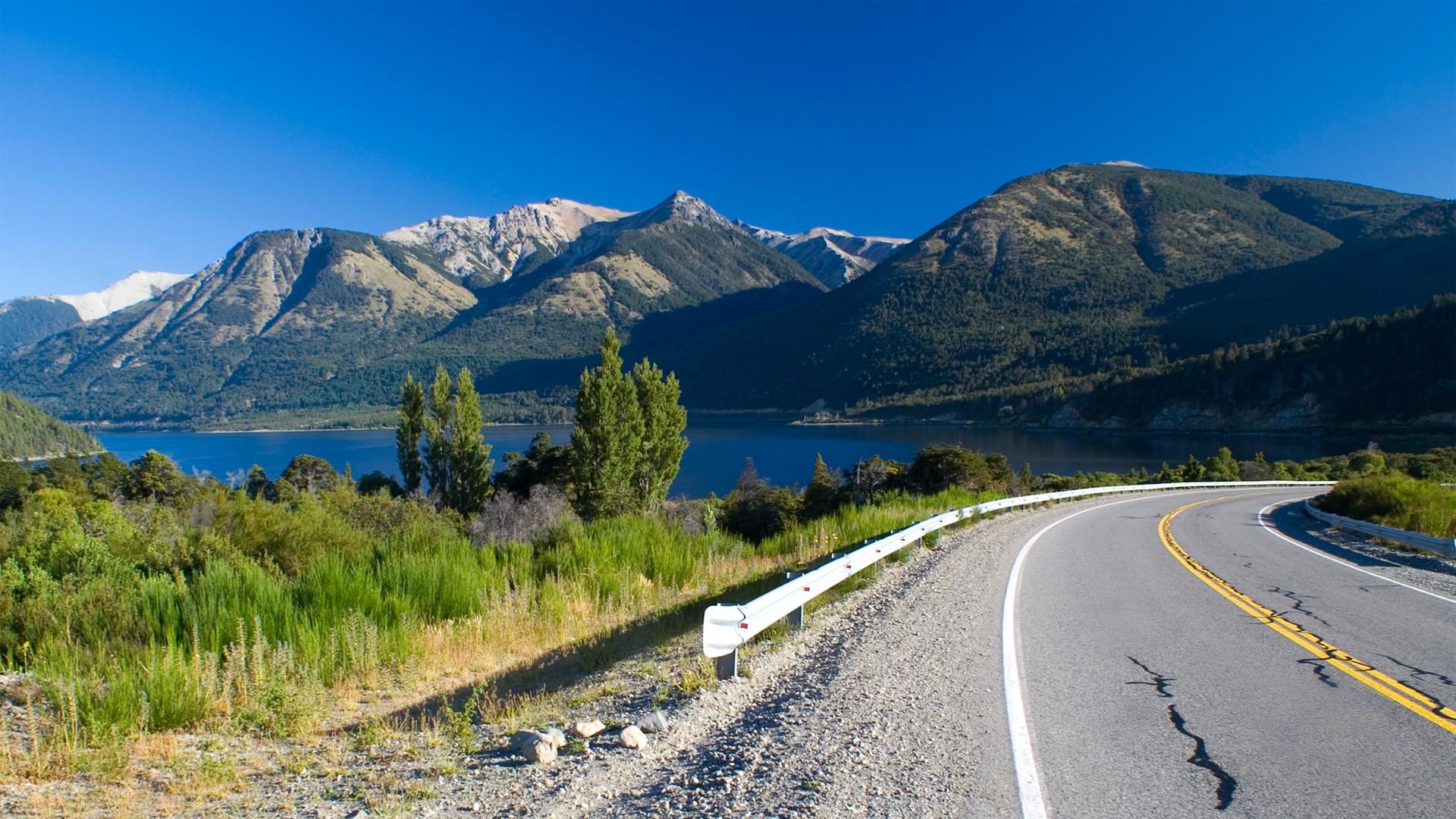 Lac Nahuel Huapi entre Bariloche et Villa La Angostura