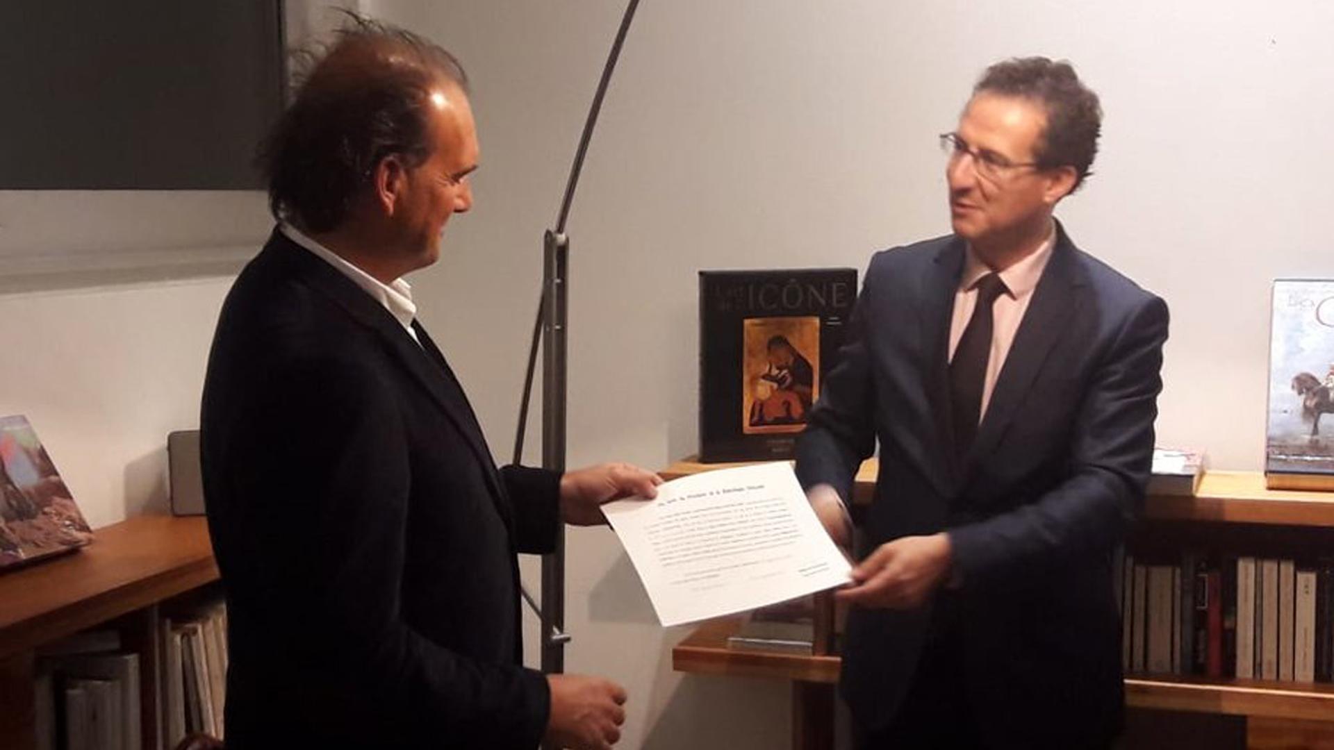Boris Choquet, cónsul honorario de Francia en la Patagonia