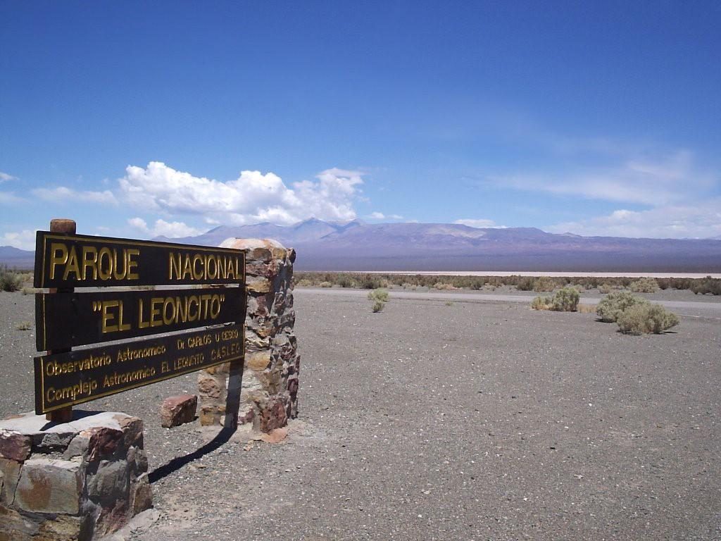 Parc National El Leoncito en Argentine