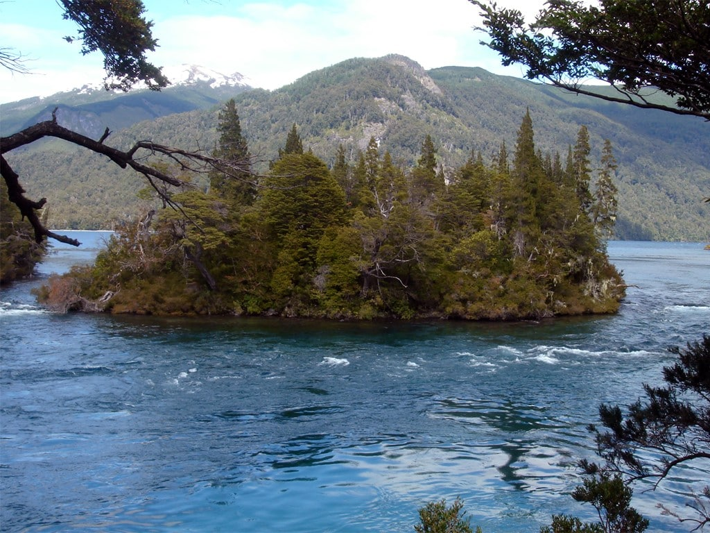 Parque Nacional Los Alerces en la Patagonia argentina