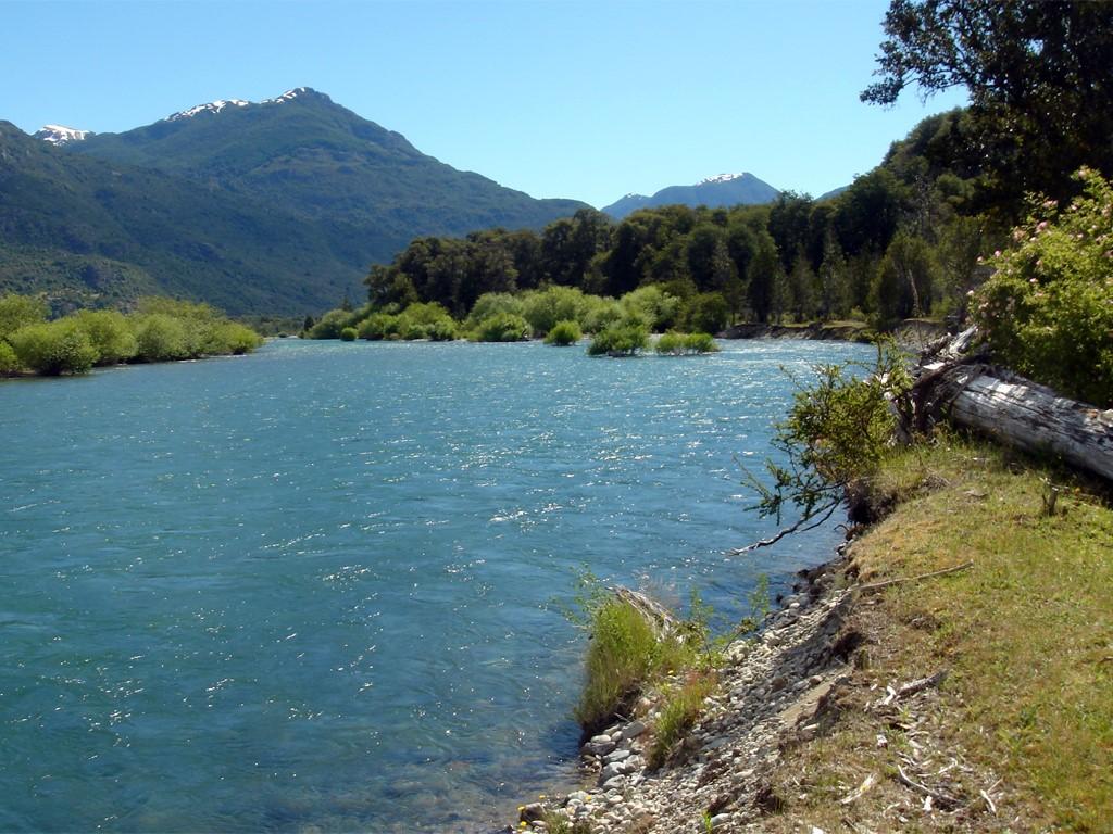 Río Manso El Bolsón en VTT