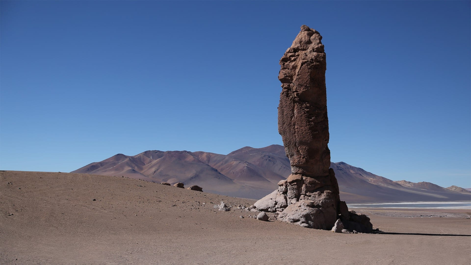Paysages désert autour de San Pedro de Atacama