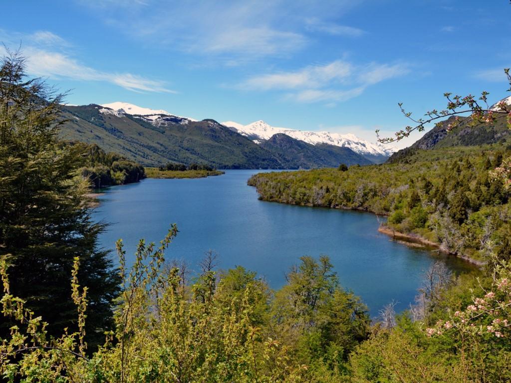 Lacs et rivières dans la zone de Bariloche