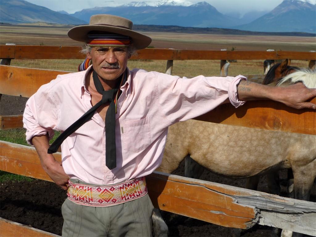 Pedro est un fier gaucho de Patagonie argentine