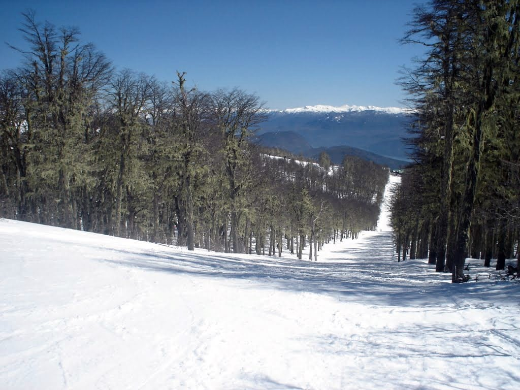 Pistes de ski à San Martin de los Andes