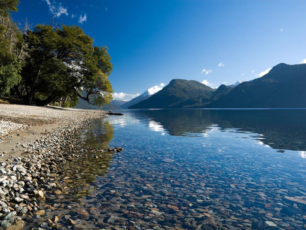 Buceo en el lago Traful en Patagonia argentina