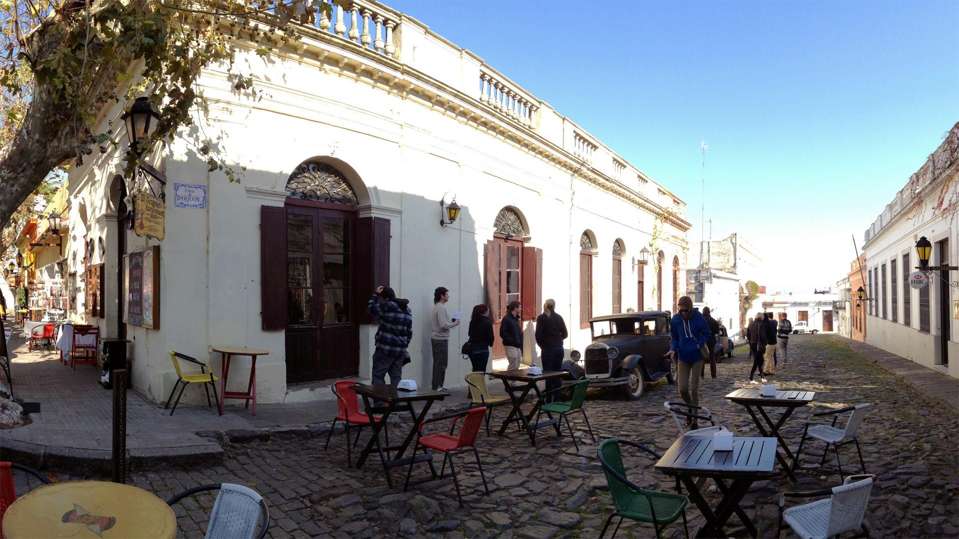 Quartier historique de Colonia en Uruguay