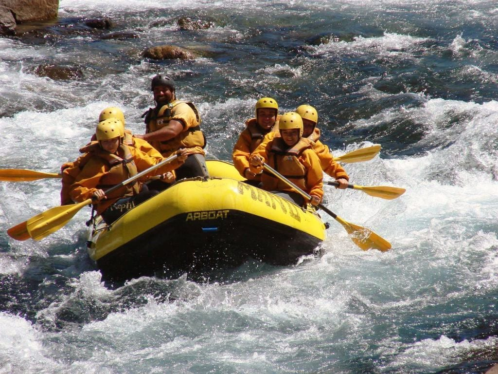 Rafting en el Norte de la Patagonia Argentina