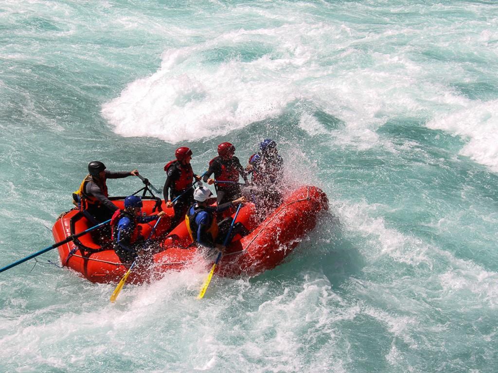 Rafting au Chili
