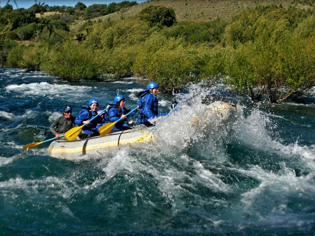 Rafting en el río Hua Hum, San Martín de los Andes