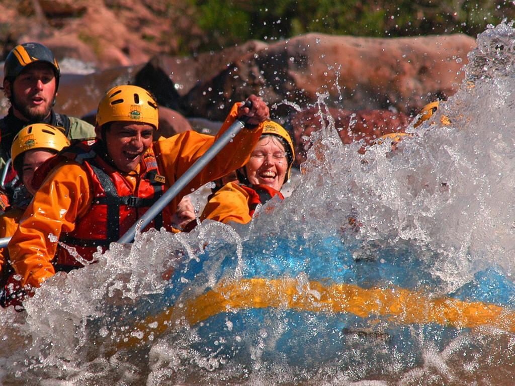 Rafting sur le Rio Juramento à Salta Argentine