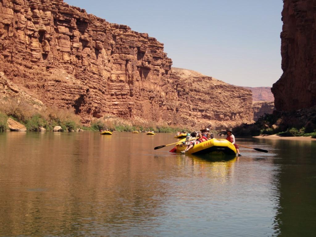 Rafting en río Aluminé en Junín de los Andes