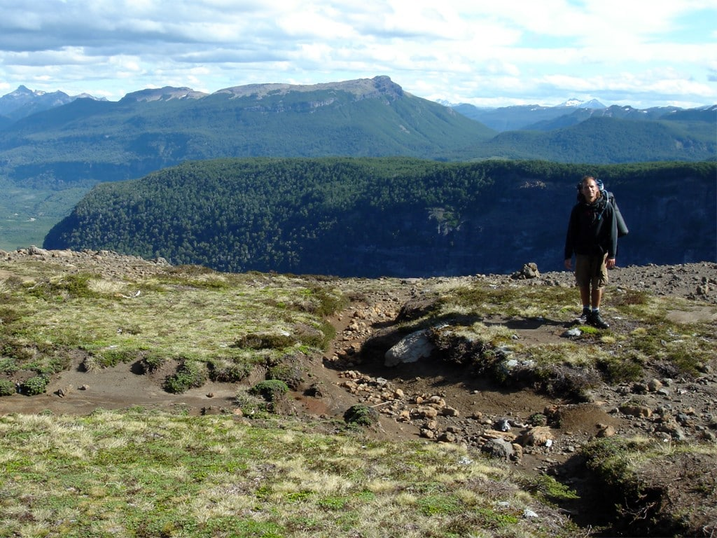 Randonnée à Bariloche Paso de las Nubes