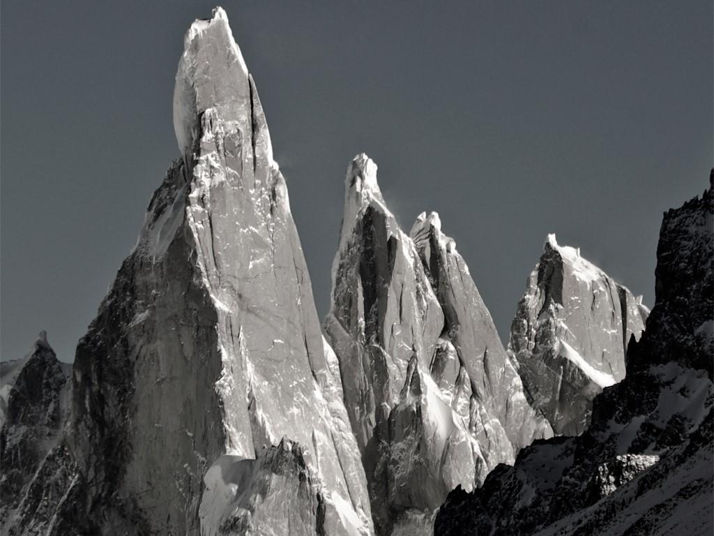 Vue sur le Fitz Roy et Cerro Torre