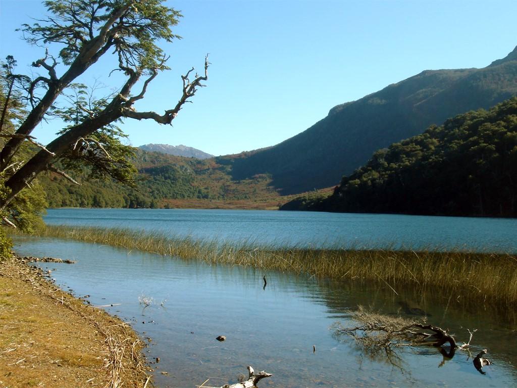 Laguna Llum en Patagonie argentine
