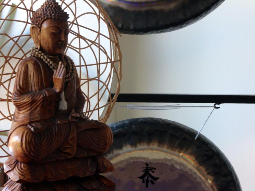 Relajación por el sonido de gongs