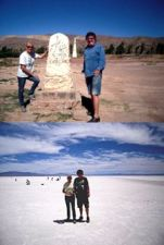 Claire et André Astre en Argentine