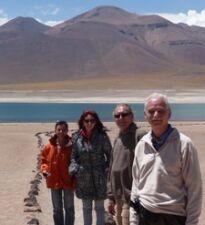 Jean-Claude et Liliane David, Claude et Daniel Le Breton en Argentine, Bolivie, au Chili et Ile de Pâques