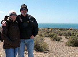 Rolande et Yves Bocquet en Argentine et au Chili