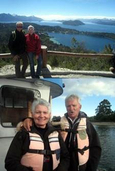 Marie-Claude et René Clément en Argentine et au Chili