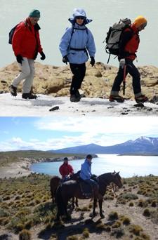 Jean-Michel et Chantal Gambut en Argentine et au Chili