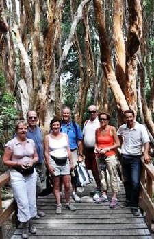 Mr et Mme Ficheux, Mr et Mme Prouvost, Mr et Mme Malot en Argentine
